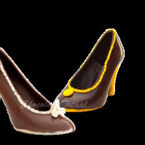 chocolade-damesschoen