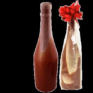 champagnefles-van-chocolade