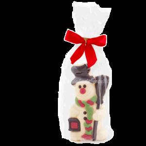 choco-sneeuwman-in-transparant-zakje-met-strik
