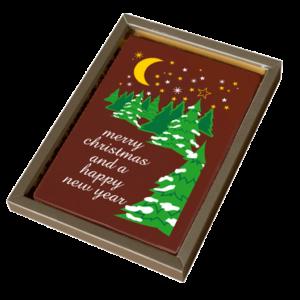 kerstkaart-van chocola