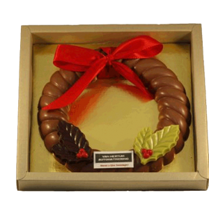 chocolade-kerstkrans-met-logo