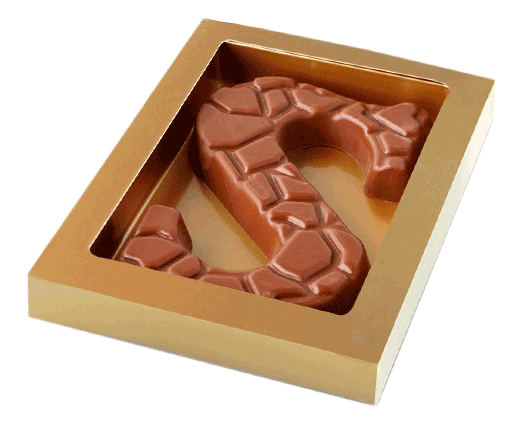 schildpad-chocoladeletters
