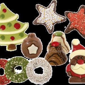chocolade-kerstfiguurtjes