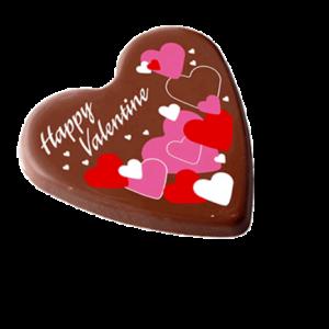 valentijnhart-chocolade