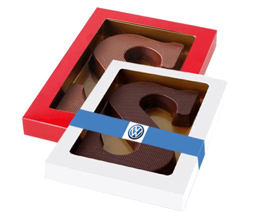 chocoladeletter-met-banderol