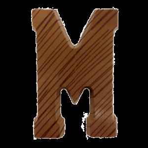 chocoladeletter-versierd