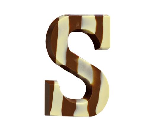 gemarmerde-chocoladeletter-zebra