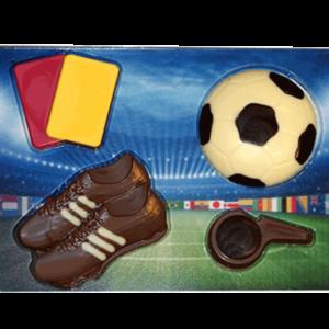 voetbal-chocolade-setje
