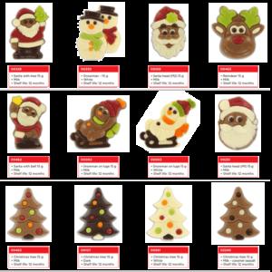 kerst-chocolaatjes