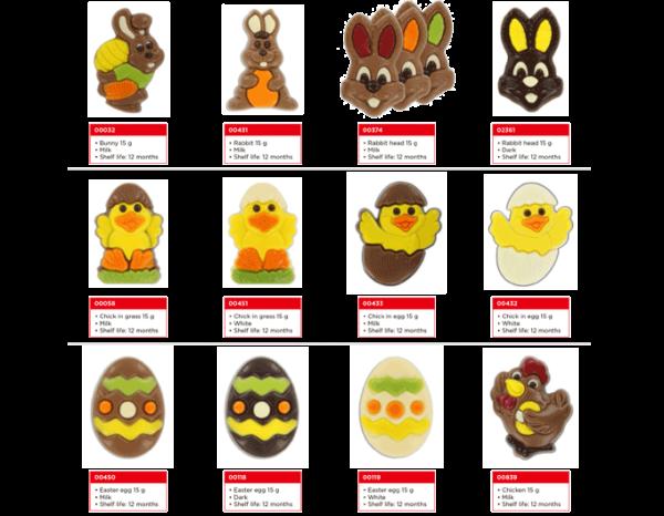 paas-chocolaatjes