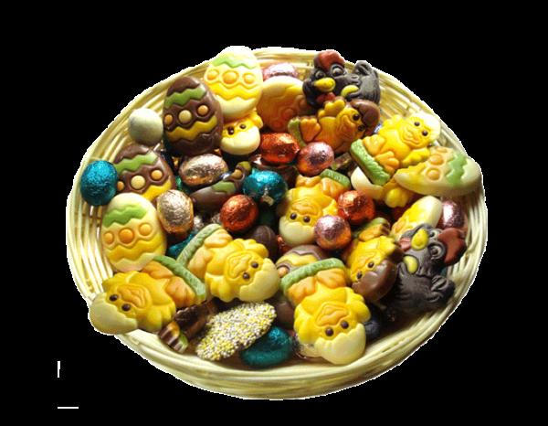 mandje-paaschocolade