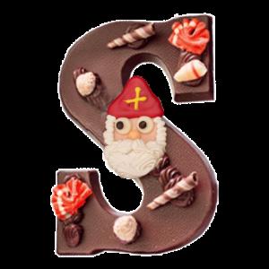 opgemaakte-chocoladeletter