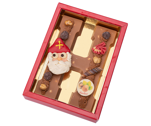 hazelnoot-chocoladeletters