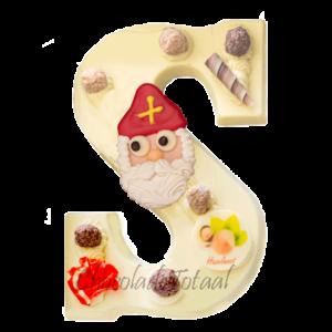 hazelnoot-chocoladeletter
